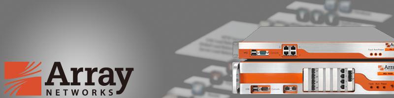 Array Networks スプラッシュ画像