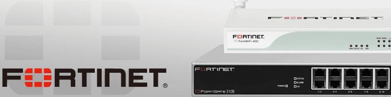 Fortinet スプラッシュ画像