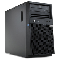 IBM.Server System x3100 M4 Pentium G Dual-Core 2.90 GHz 3 MB Cache RAM 4 GB 250 GB DVD-ROM Gigabit Enabled (1.00 Gbps) No OS Installed No License Language: Japanese Tower