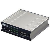 VGA to HDMI変換アダプタ(オーディオ対応) AC給電モデル