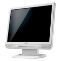 I.O DATA XGA 15型スピーカー内蔵液晶ディスプレイ(ホワイト・保護フィルター) (LCD-A155G2-P)画像