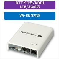 PLAT'HOME OpenBlocks IoT EX1 ACアダプタ付属 LTEモジュール(NTTドコモ/KDDI)搭載+Wi-SUNモジュール搭載 (OBSEX1G/ACB-dLB-RWA)画像