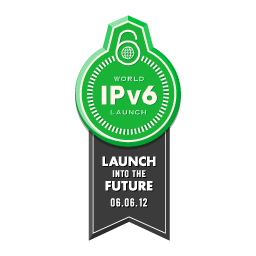 World IPv6 Launch banner